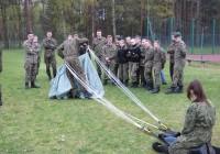 Zajęcia ze składania spadochronu 22.04.2016