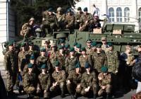 Strzelcy na Pikniku NATO w Piotrkowie Tryb.